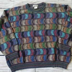 VTG Norm Thompson Cosby Sweater Biggie Coogi Style